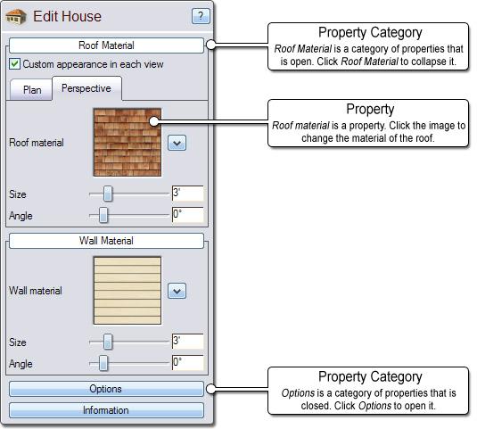 Landscape Design Software By Idea Spectrum: Setting Object Properties