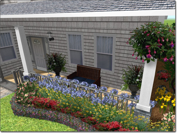 Landscaping Ideas For A House With A Front Porch : Adding a column