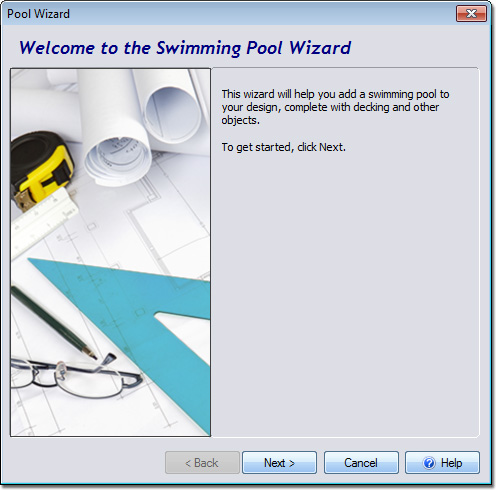 Swimming pool wizard for Pool design software free online