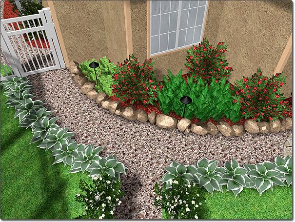 Adding a plant row for Plant landscape design