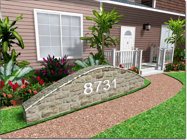 Adding a retaining wall for Terrace wall design ideas