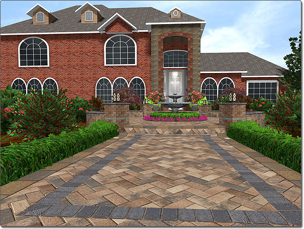 walkway design ideas sidewalk design ideas - Sidewalk Design Ideas