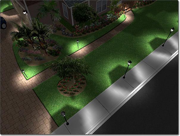 Landscape design software adding a street light aloadofball Images