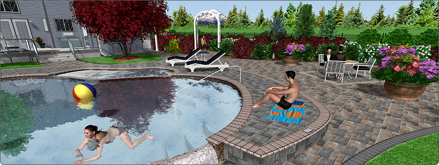 Landscape software news for Garden design 3d mac