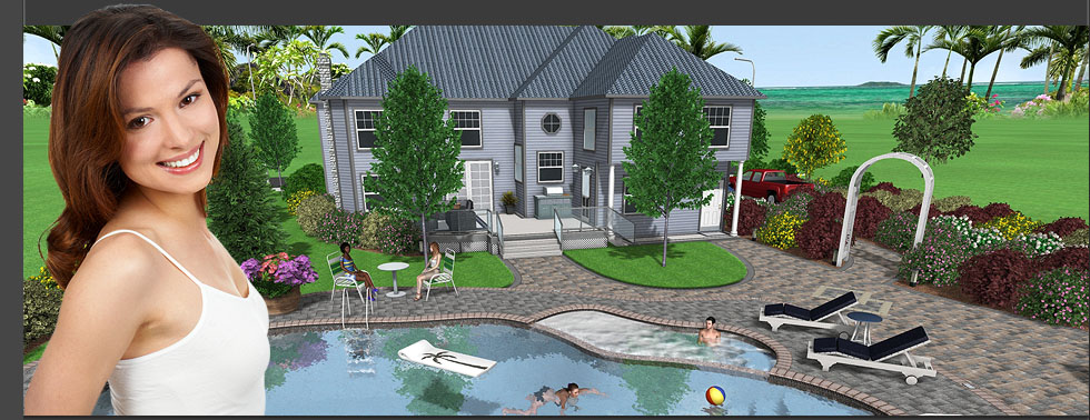 Landscape design software 3d landscaping software idea for 3d pool design software free