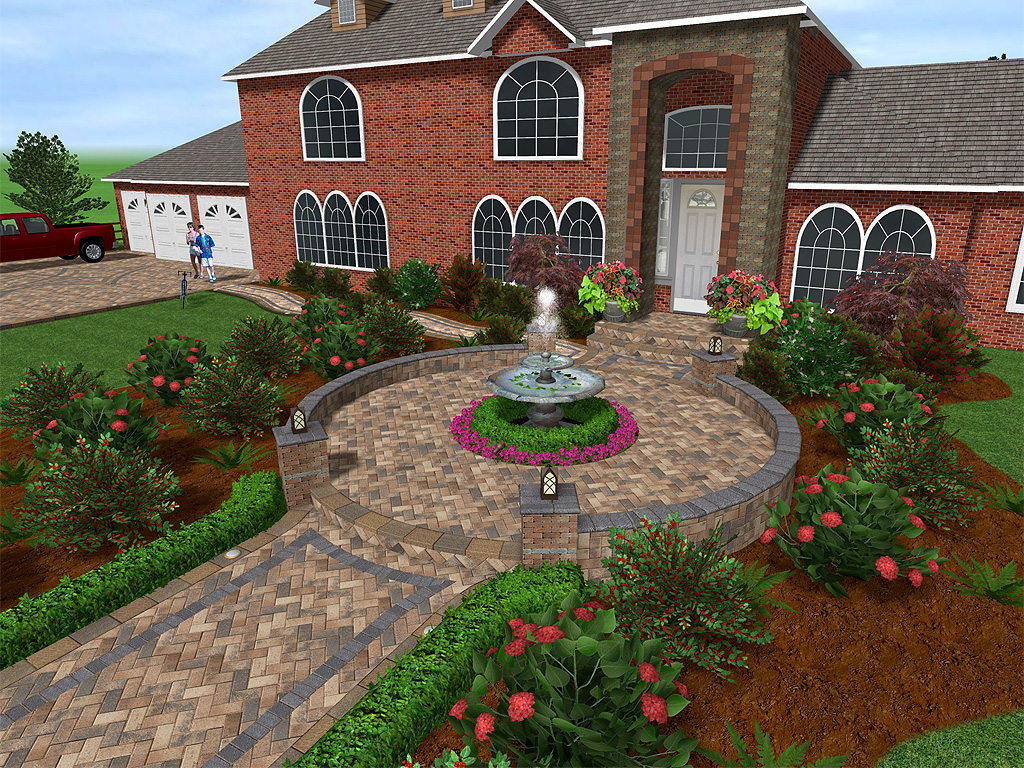 Landscape Design Unilock Pavers Paver Design Software Unilock Design  Software ...