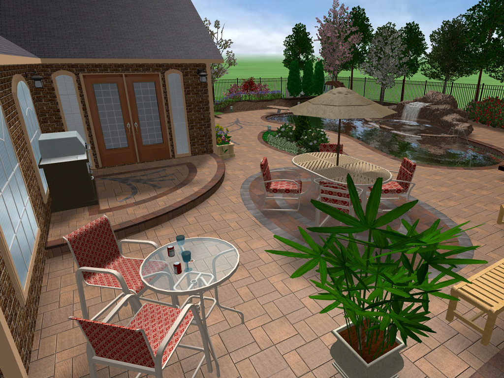 Professional landscaping software by idea spectrum for 3d garden designs