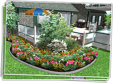 Garden Design Ideas garden edging design ideas photo 5 Landscape Design Software By Idea Spectrum Realtime Landscaping Pro