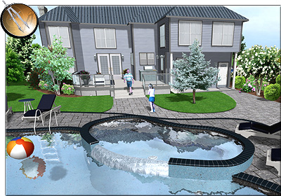 Professional landscape software for Pool design program