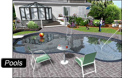 Professional landscape software for Swimming pool design xls