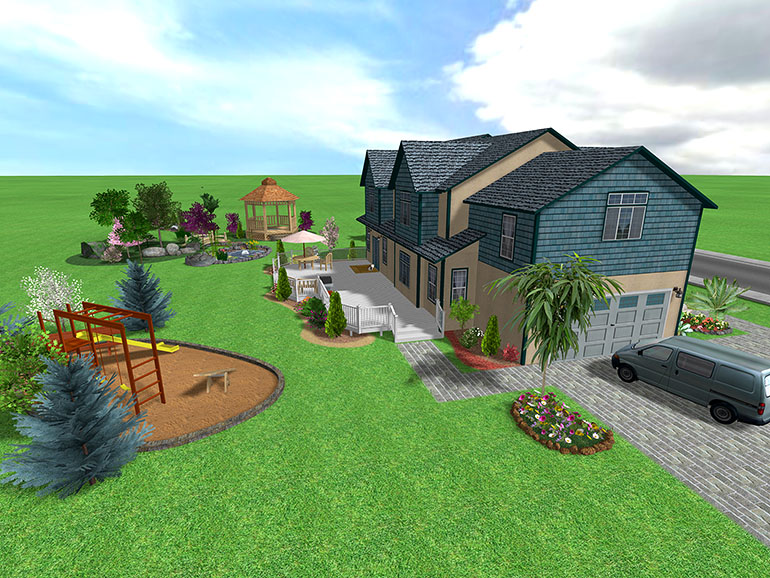 Landscape design software gallery page 2 for Garden design 1 2 acre