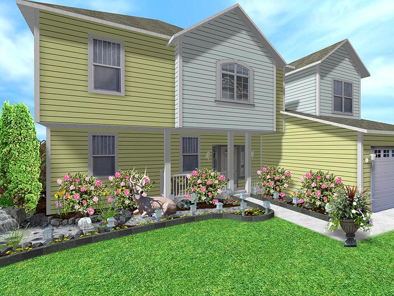 Home Design Ideas. Landscape Design Basics At The Home Depot