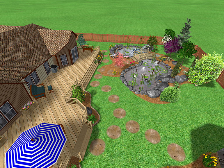 ����� ������� �������� � ����� ������� �������� landscape design