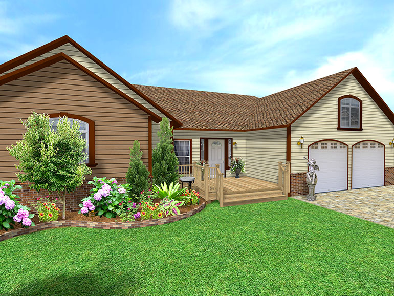 Landscape design software gallery page 4 for House plans with landscaping
