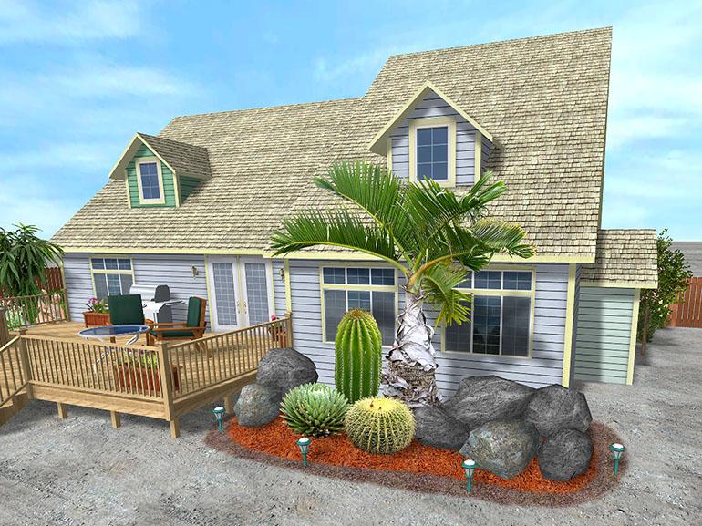 تصميم الحديقة المنزلية و تخطيط الحدائق المنزلية landscape design