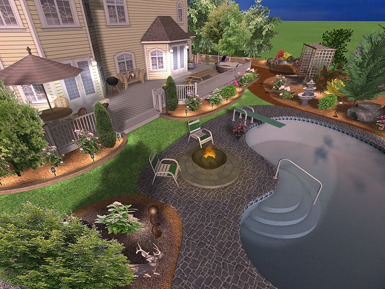 Landscape design software gallery page 6 for Garden design 3d online