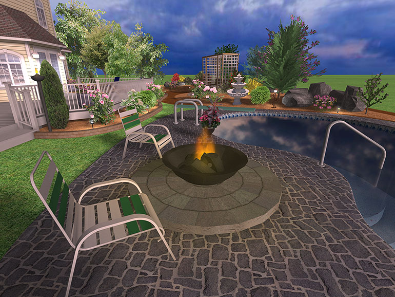 Landscape design software gallery page 6 for Pool design tool
