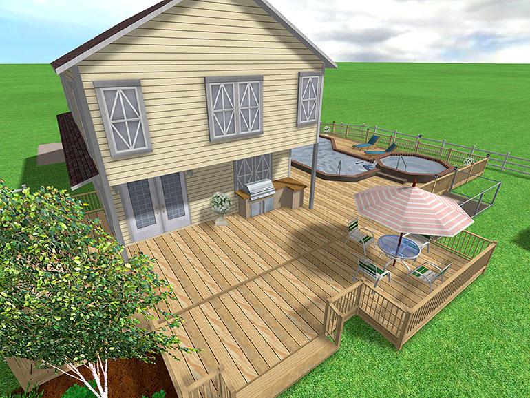 Landscape design software gallery page 1 for Pool deck design software
