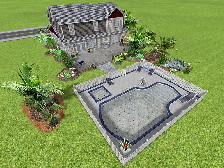 Landscape design software gallery page 2 for Free pool design software
