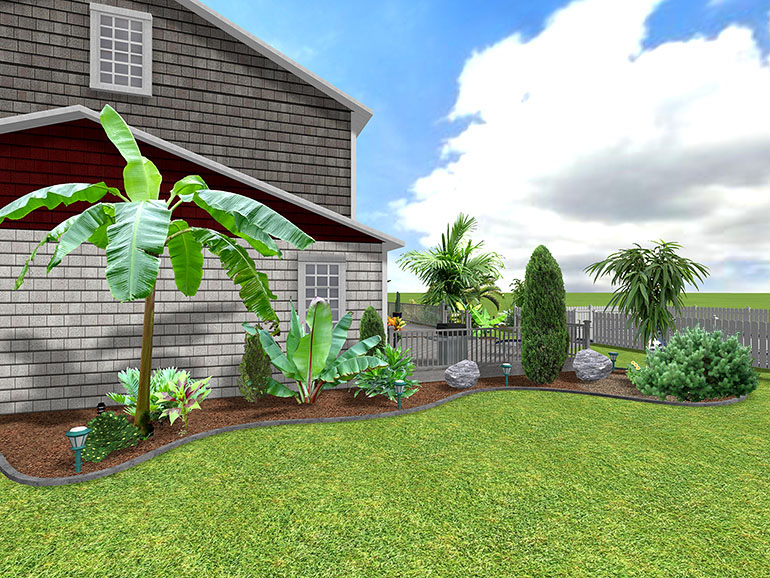 Landscape design software gallery page 2 for Garden designs and landscapes