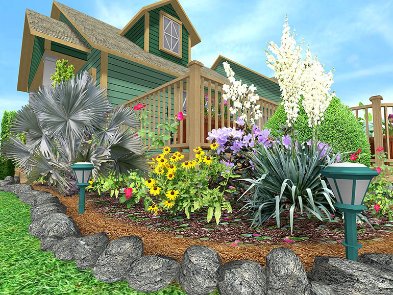 Cheap Landscaping Border Ideas by Angelica, 770x578 in 264.4KB