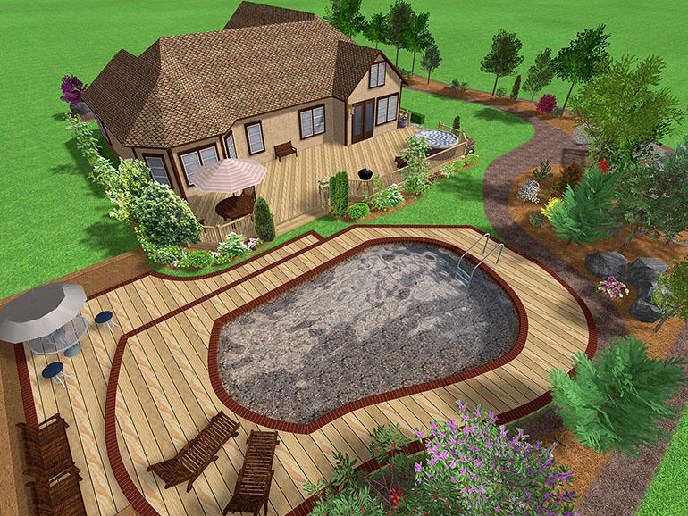 Дизайн проект садовые кварталы