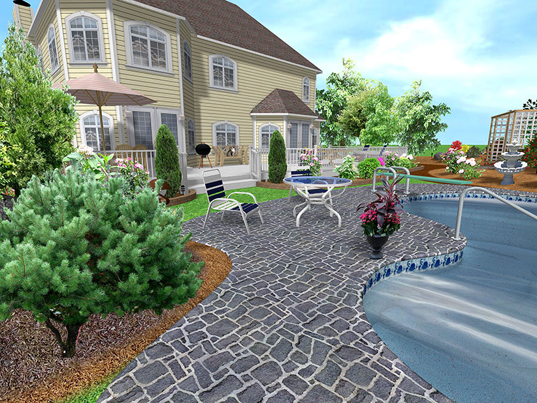 Landscape design software gallery page 1 for 3d pool design software free download