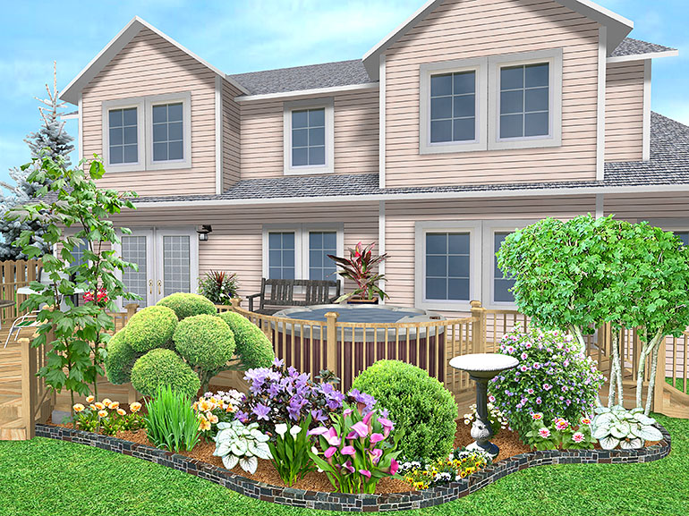 Landscape design software gallery page 5 for Professional landscaping ideas