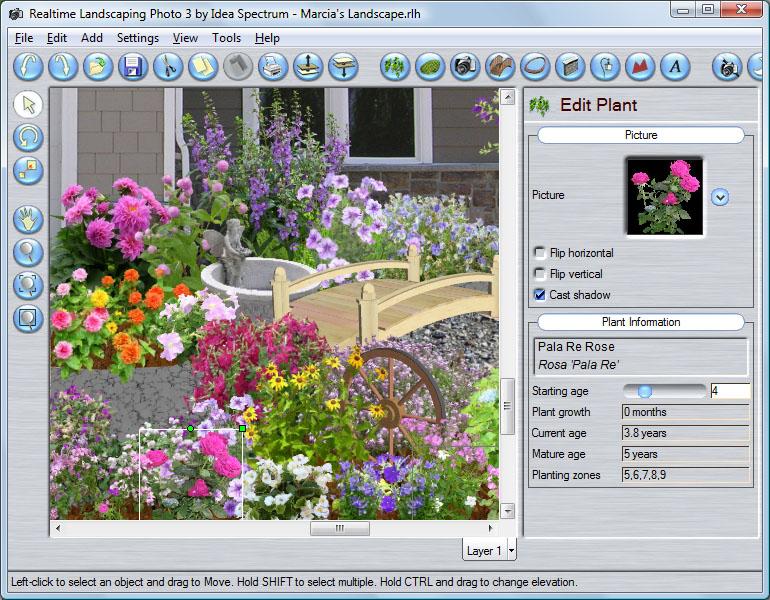 Программа для проектирования садовых участков