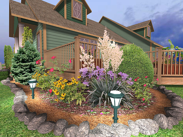 Images Of Landscaping Around Deck : Landscaping ideas around deck pictures learn how