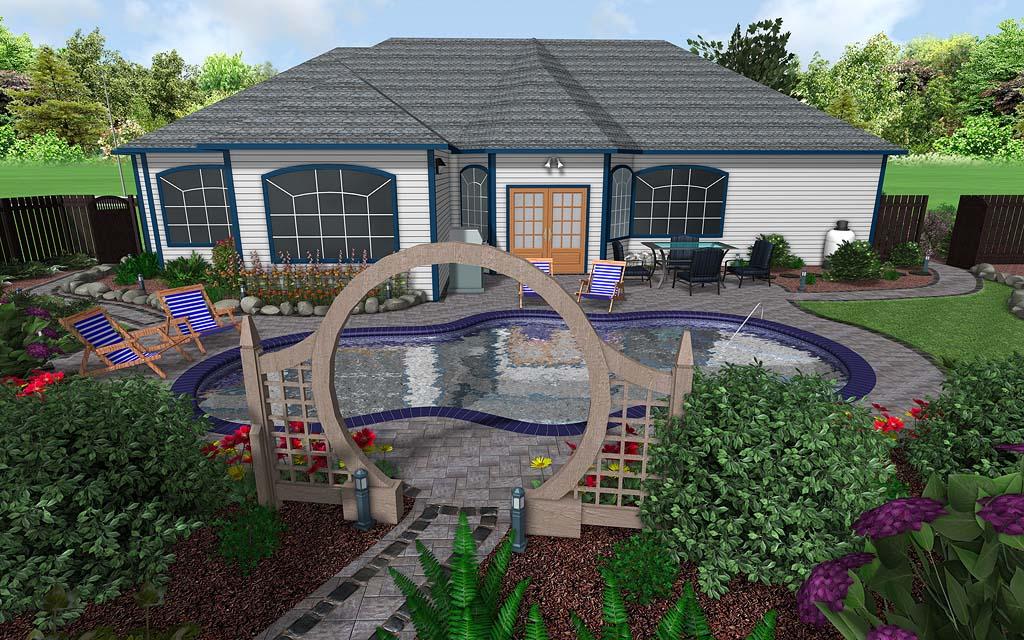 Professional landscape design software gallery for 3d pool design programs