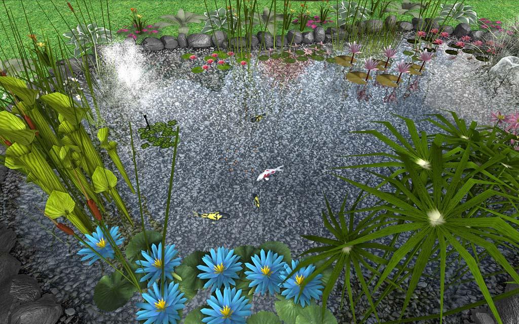 Professional landscape design software gallery for Design a pond software