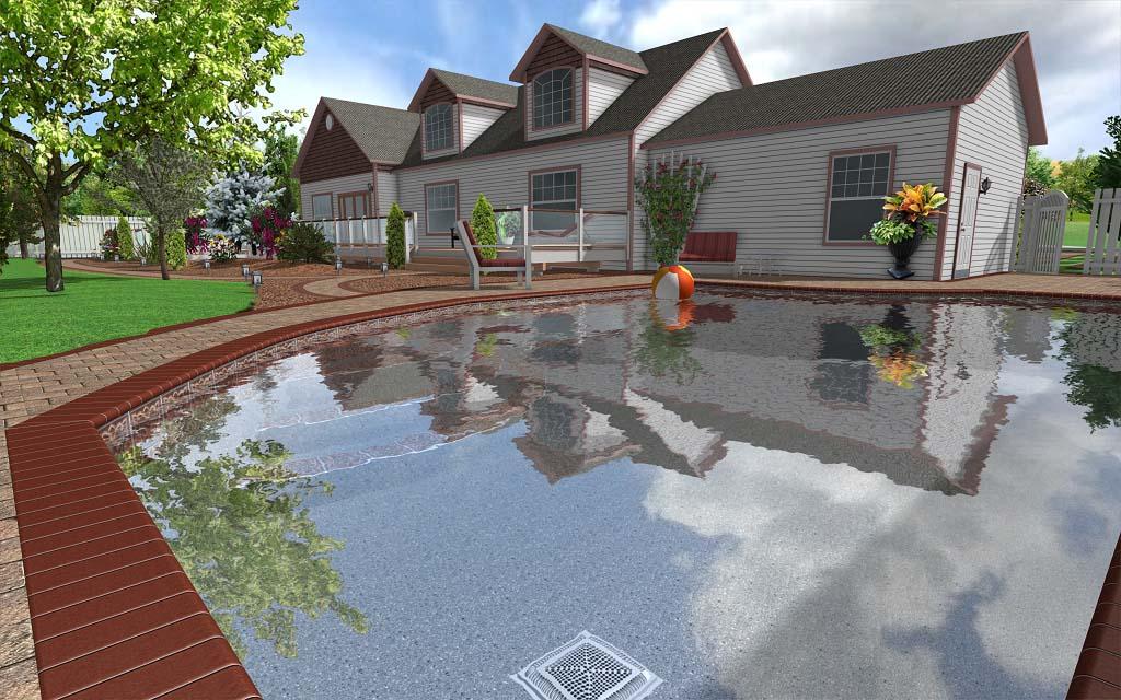 Realistic 3d landscape designs