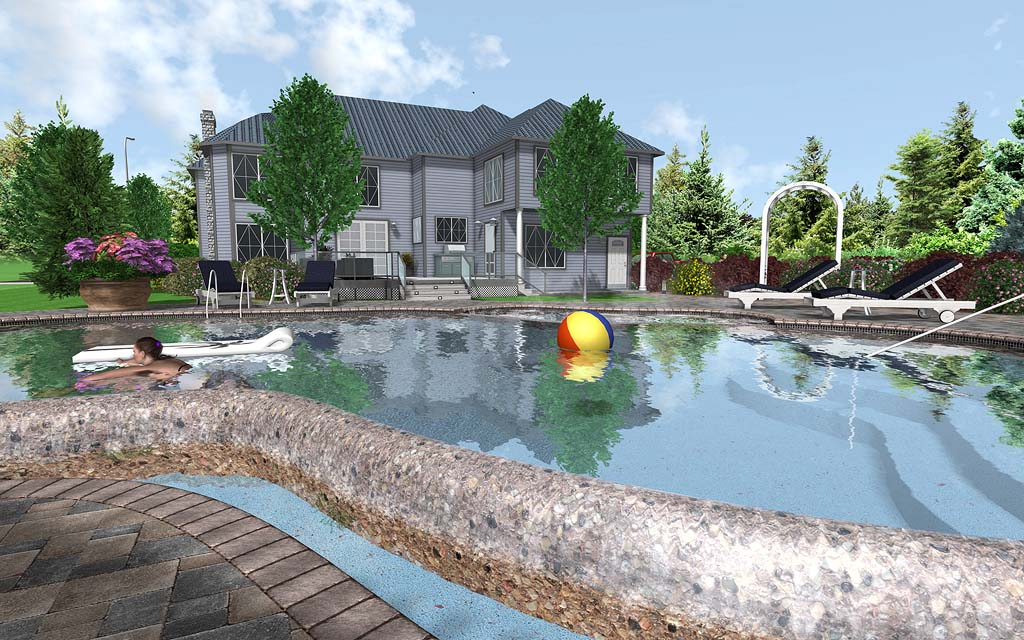 Professional landscape design software gallery for Pool design program
