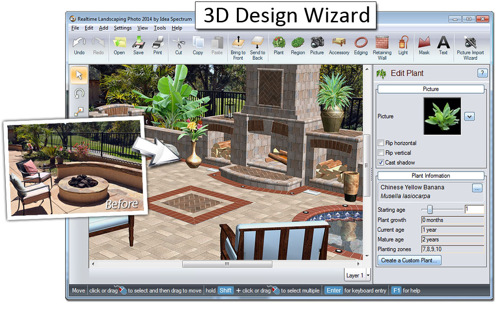 Professional landscape design software gallery for Residential home design software
