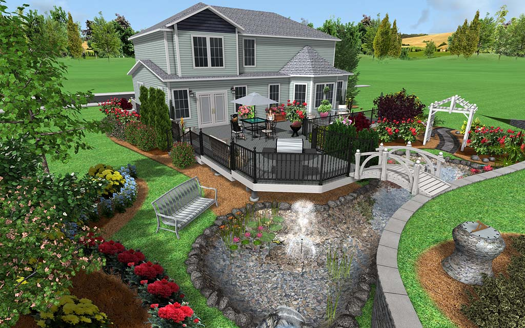Landscape design software image gallery for Home garden design program