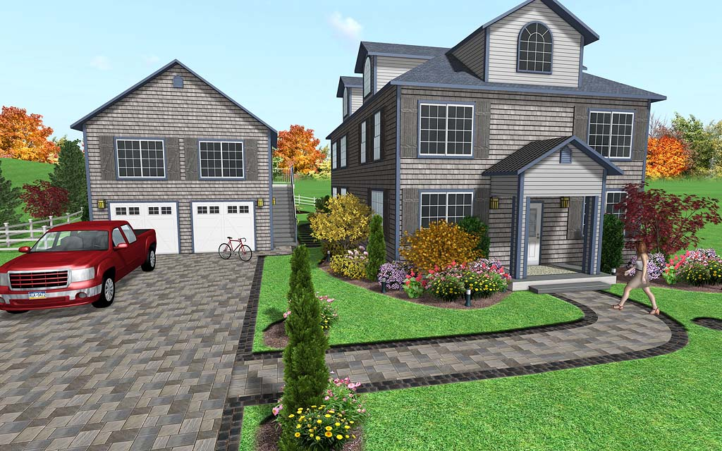 Landscape design software image gallery for Professional landscaping
