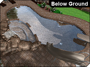 Nice Below Ground Swimming Pool Design Software ...