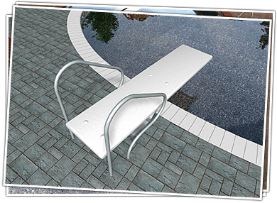 Swimming Pool Diving Board Design