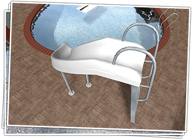 Swimming Pool Slide Design