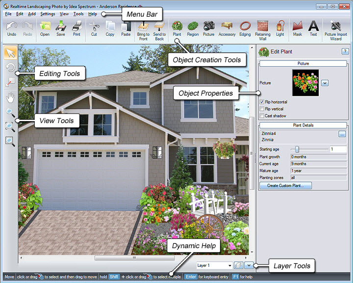 Landscaping Photo Layout