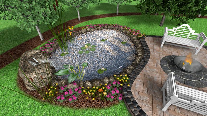 adding a pond