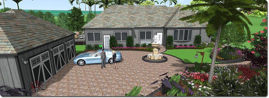 New landscape design software realtime landscaping architect for 3d garden designs