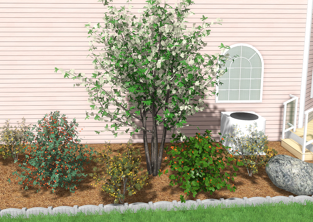 New 3D Landscaping Plants