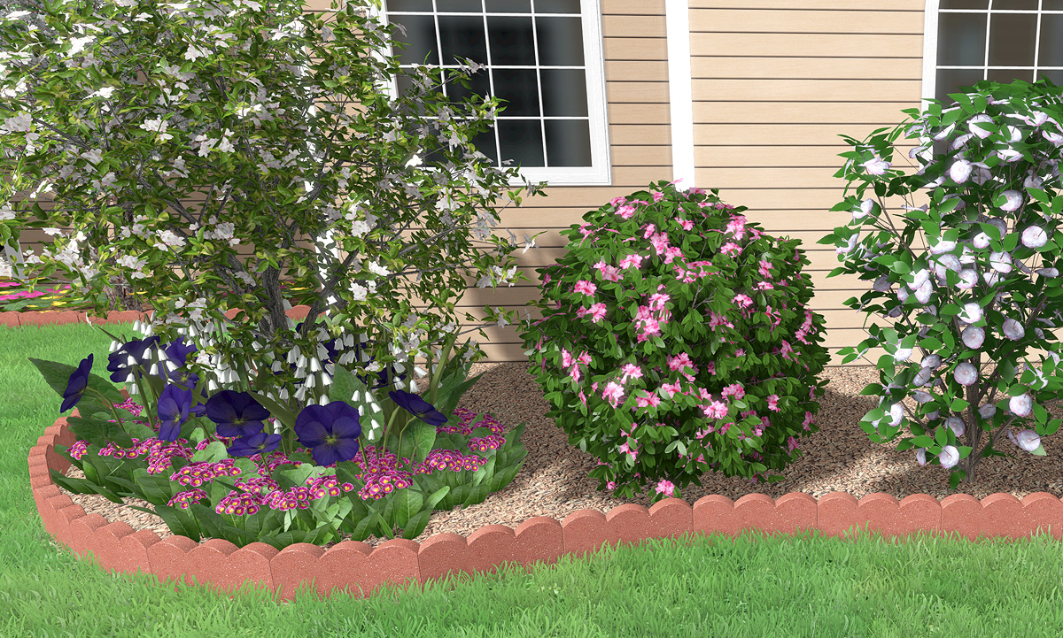 Realistic Stone Edging