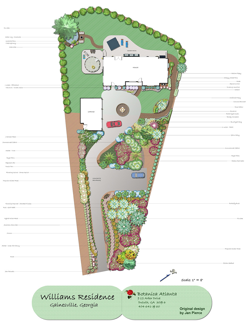 design landscape plans and cad drawings