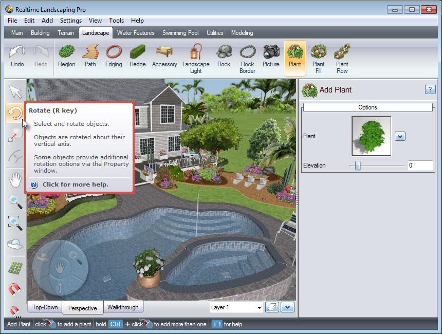 pro landscape software  free