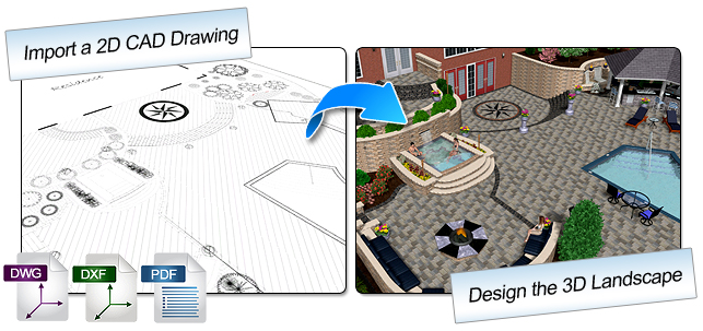 Import 2D CAD Drawings
