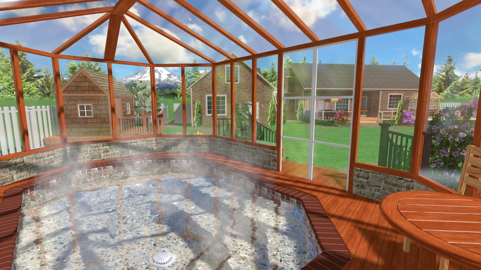Indoor Spa And Landscape Design