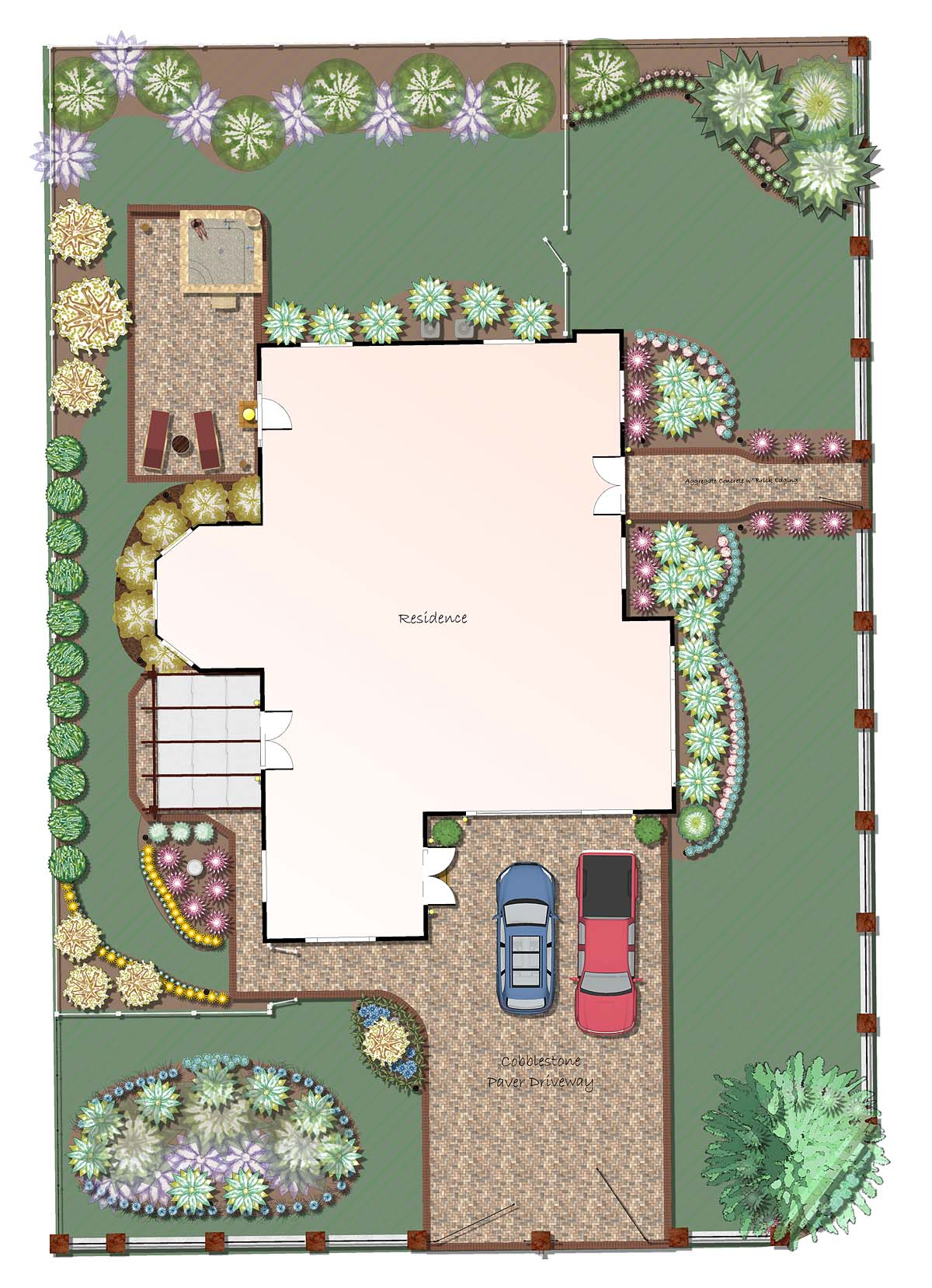 Professional landscape software for Patio plans and designs